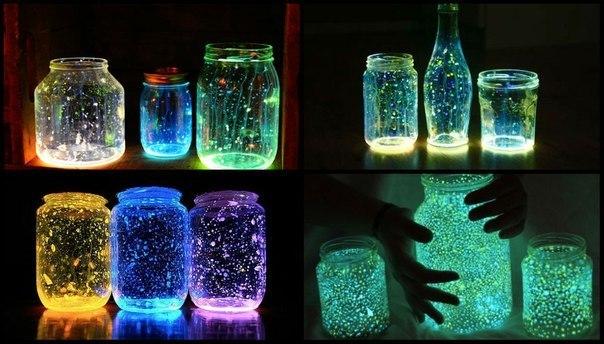 Светящаяся в темноте краска своими руками в домашних условиях 5